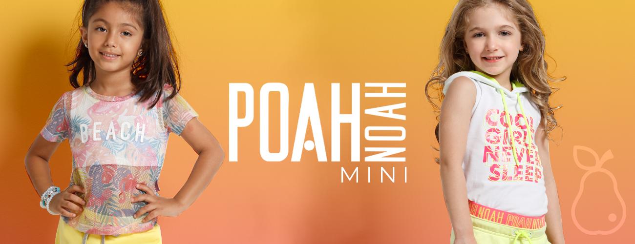 Poah Noah Moda Infantil Kids Feminino