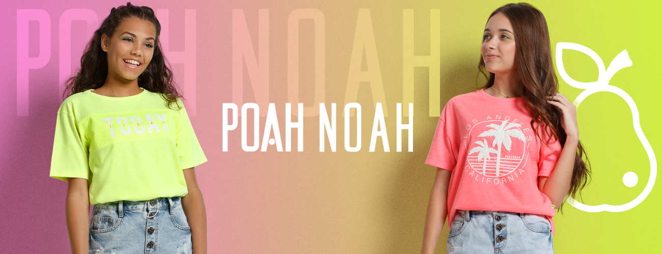 Poah Noah Moda Teen Feminino